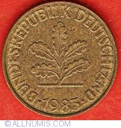 Image #2 of 10 Pfennig 1983 J
