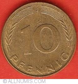 Image #1 of 10 Pfennig 1983 J