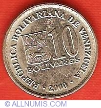 Imaginea #1 a 10 Bolivares 2000
