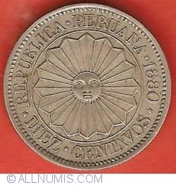 10 Centavos 1880