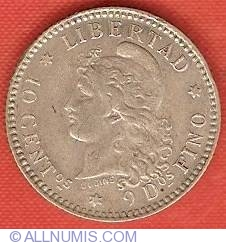Image #2 of 10 Centavos 1883