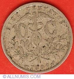 Imaginea #2 a 10 Centavos 1897