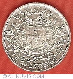 Imaginea #2 a 10 Centavos 1915