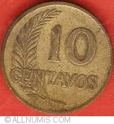 Image #2 of 10 Centavos 1942