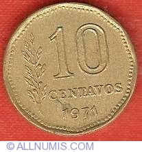 Image #2 of 10 Centavos 1971