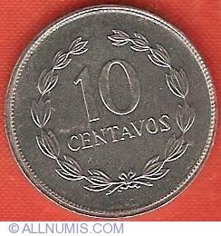 Imaginea #2 a 10 Centavos 1987