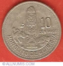Image #2 of 10 Centavos 1991