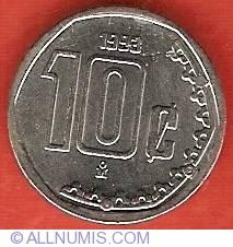 Image #2 of 10 Centavos 1993