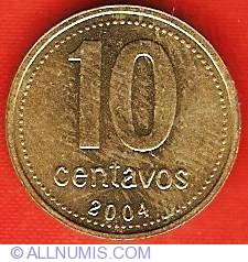 Image #2 of 10 Centavos 2004