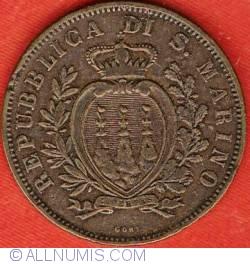 Imaginea #1 a 10 Centesimi 1893 R