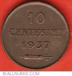Imaginea #2 a 10 Centesimi 1937 R