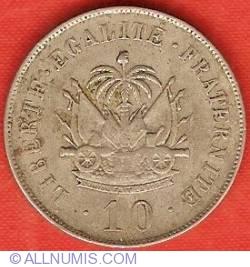 Imaginea #2 a 10 Centimes 1906