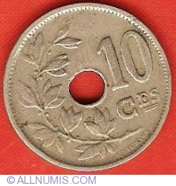 Image #2 of 10 Centimes 1921 (French)
