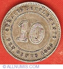 Image #1 of 10 Cents 1886