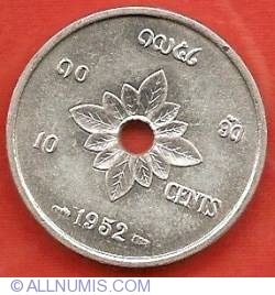 Image #2 of 10 Cents 1952