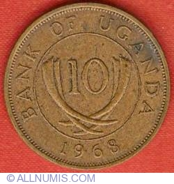 Image #2 of 10 Cents 1968