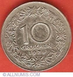 Image #2 of 10 Groschen 1928