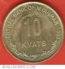 Image #2 of 10 Kyats 1999