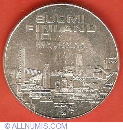 10 Markkaa 1971 - 10th European Athletics Championships