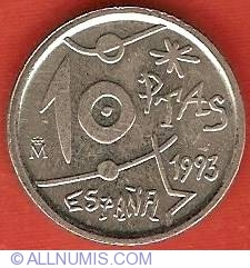 Image #1 of 10 Pesetas 1993