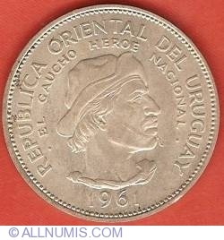 10 Pesos 1961 - Sesquicentennial of Revolution against Spain
