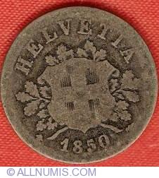 Image #1 of 10 Rappen 1850 BB