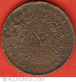 Imaginea #2 a 10 Reis 1873