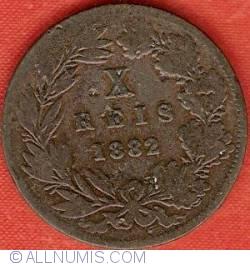 Imaginea #2 a 10 Reis 1882