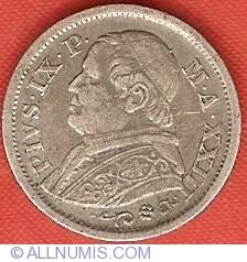 Image #1 of 10 Soldi (50 Centesimi) 1868 (XXIII)