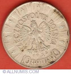 Image #1 of 10 Zlotych 1936 - Pilsudski