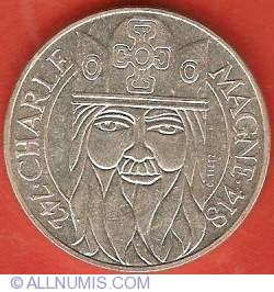Image #2 of 100 Francs 1990 - Charlemagne