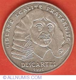 100 Francs 1991 - Descartes
