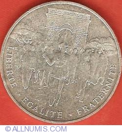 Image #2 of 100 Francs 1994 - Liberation of Paris