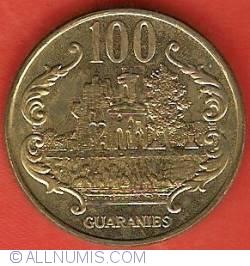 Imaginea #2 a 100 Guaranies 1996