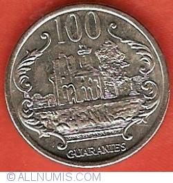 Imaginea #2 a 100 Guaranies 2006