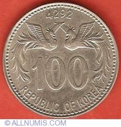 Image #2 of 100 Hwan 1959 (KE4292)