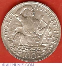 Image #2 of 100 Korun 1949 - Jihlava Mining Privileges