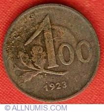 Imaginea #2 a 100 Kronen 1923