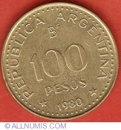 Image #1 of 100 Pesos 1980