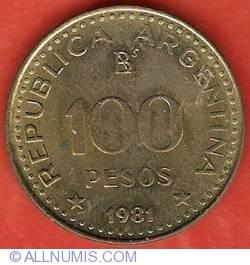 Image #1 of 100 Pesos 1981