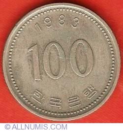 Imaginea #2 a 100 Won 1983