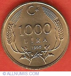 Image #2 of 1000 Lire 1995