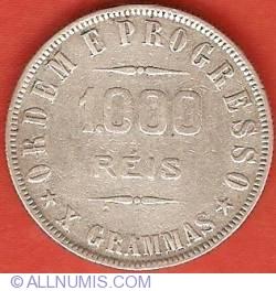 Imaginea #2 a 1000 Reis 1912