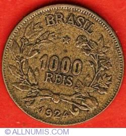 Image #1 of 1000 Reis 1924