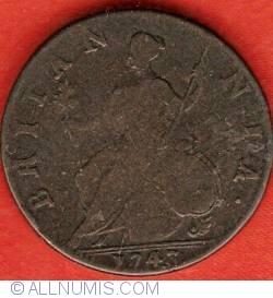 Imaginea #1 a Halfpenny 1743
