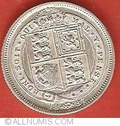 Sixpence 1887