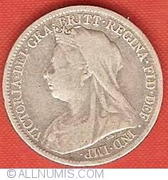 Sixpence 1900
