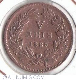 Imaginea #2 a 5 Reis 1885