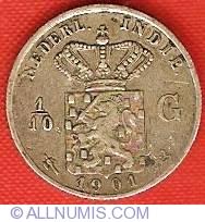 Image #2 of 1/10 Gulden 1901