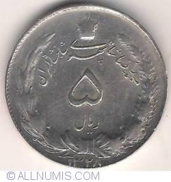Imaginea #2 a 5 Rials 1949 (SH1328)